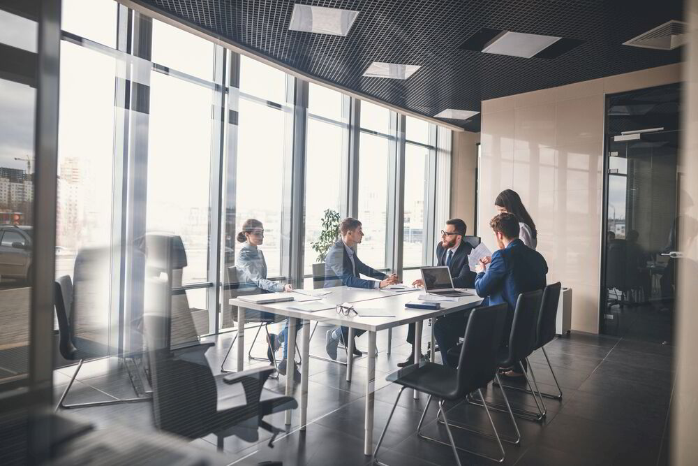 Productivity, Meetings, Labor, Environment, Optimism, Time, Meetings, Collaborators, Corporate